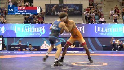 55 kg Final 3-5 - Rupin Rupin, India vs Tamazi Glonti, Georgia
