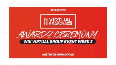 2021 WGI Virtual Event Week 3 Awards Ceremony