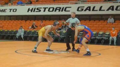 157 lbs match Dan Waddell Tenn Chat vs. George Ivanov