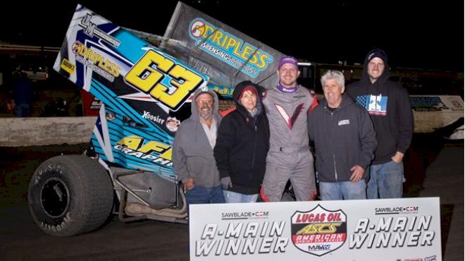 JJ Hickle Sweeps The Devil's Bowl Spring Nationals With ASCS