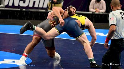 285 final, Gable Steveson, MN vs Mason Parris, Michigan