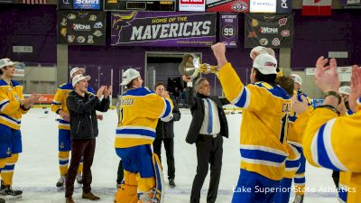 Lake Superior State Ends 25-Year Drought With WCHA Championship Win
