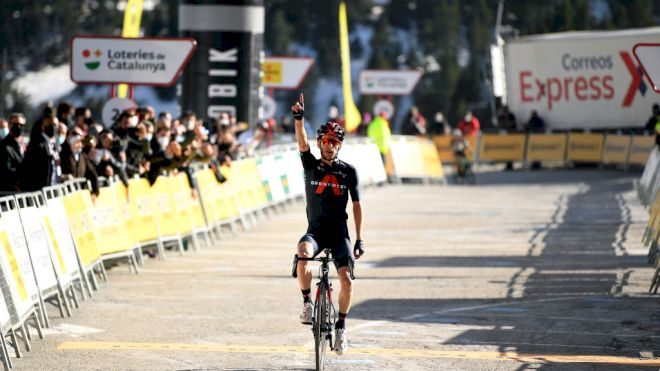 Adam Yates Climbs To Victory And Takes Lead In Catalonya