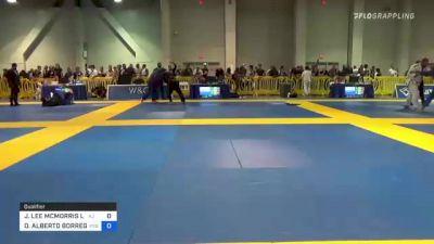 JOSEPH LEE MCMORRIS LL vs OSCAR ALBERTO BORREGO 2021 American National IBJJF Jiu-Jitsu Championship
