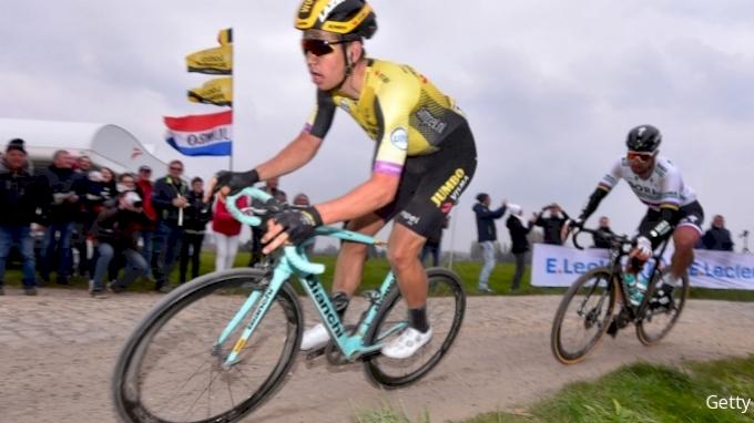 picture of Wout van Aert Paris-Roubaix 2021