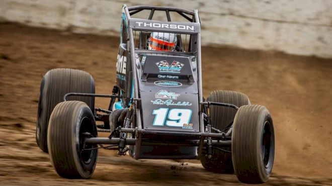 Thorson To Contend For USAC Sprint Car Title With Reinbold-Underwood