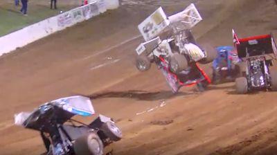 Big Multi-Car Crash | SCCT Sprints at Placerville Speedway