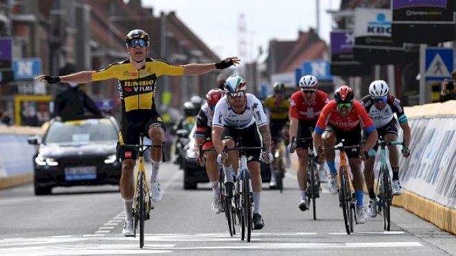 Wout Van Aert Powers To Gent Wevelgem Victory