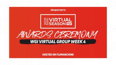 RESULTS: 2021 WGI Virtual Event Week 4 Awards Ceremony