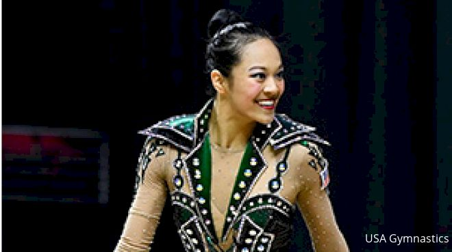 Laura Zeng Finishes Top 10 All-Around At Sofia World Cup
