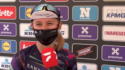 Kasia Niewiadoma: Canyon SRAM 'Gained Confidence' For 2021 Tour of Flanders