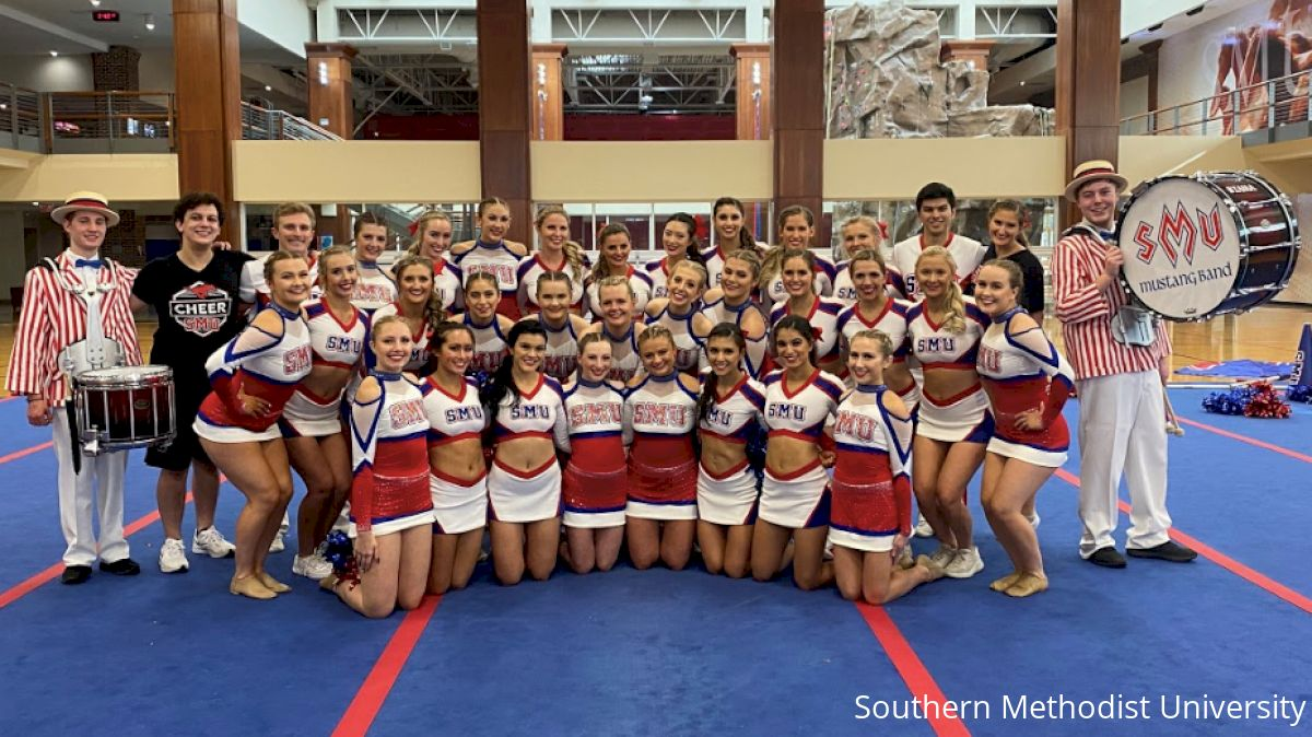 Southern Methodist University Cheer Takes on Game Day D1 at NCA!