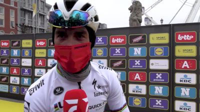 Julian Alaphilippe: Second Flanders In The Rainbow Jersey At 2021 Tour Of Flanders