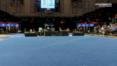 Full Replay - 2019 NCAA Gymnastics Regional Championships - Oregon State - Floor - Apr 6, 2019 at 8:34 PM CDT