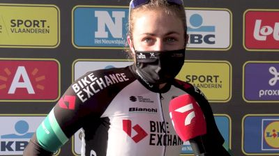 Grace Brown: A Messy Chase At 2021 Tour Of Flanders