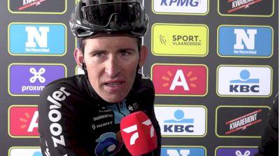 Tiesj Benoot: Suffering Legs At 2021 Tour Of Flanders