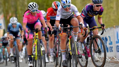 Scheldeprijs: Balsamo Breaks a Cleat