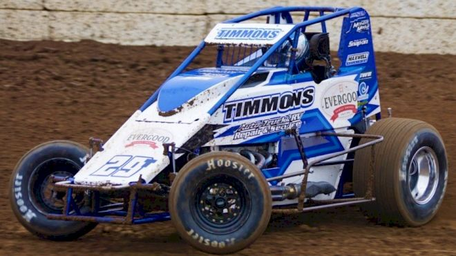 USAC WC Sprints Make 50th Hanford Visit