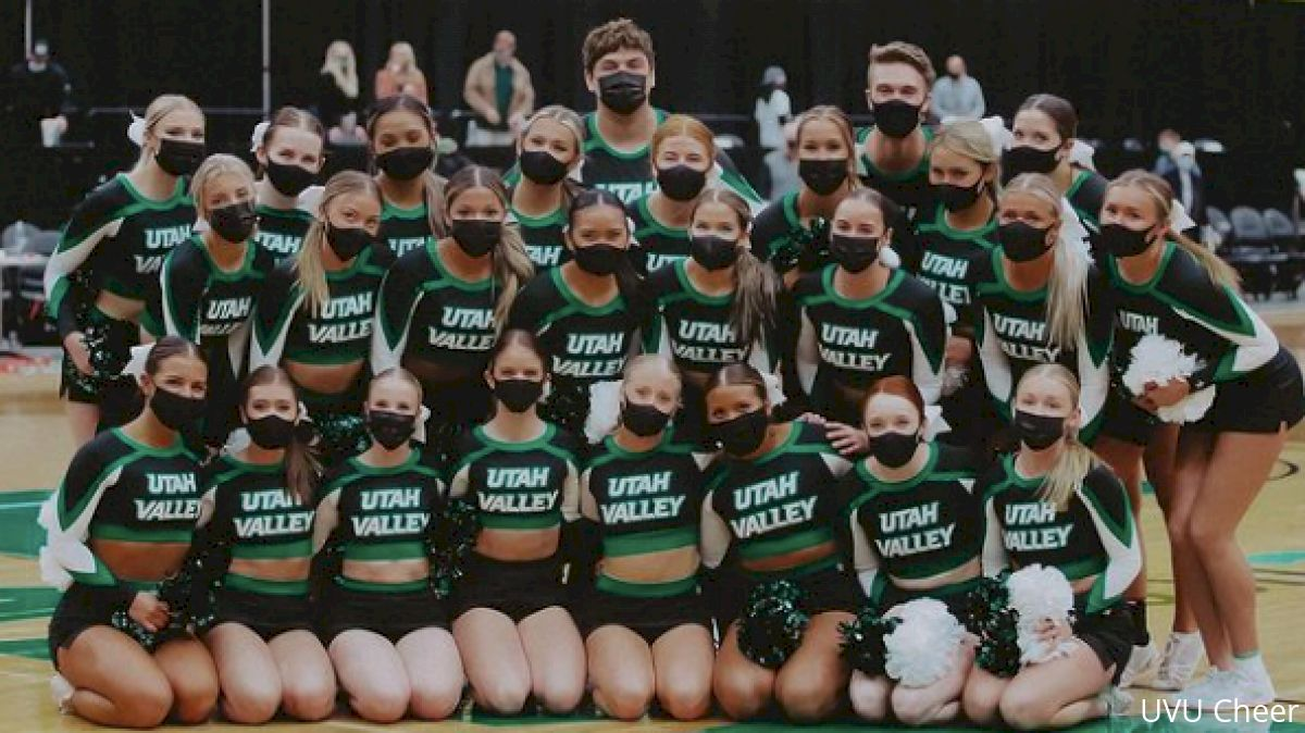 Utah Valley Cheer Takes On Daytona In A New Division