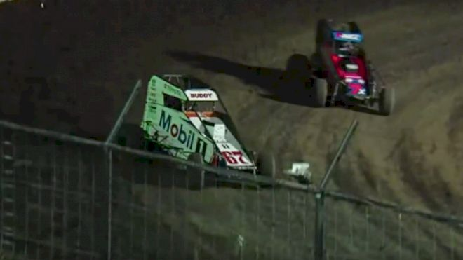 Feature Replay | USAC Midgets Saturday at Port City