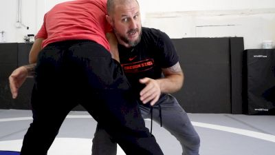 Book 6, Control Ties, Leg Attack Options Off An Under Hook