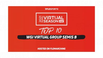 Top 10: Most Watched Shows In 2021 WGI Virtual Group Semis B