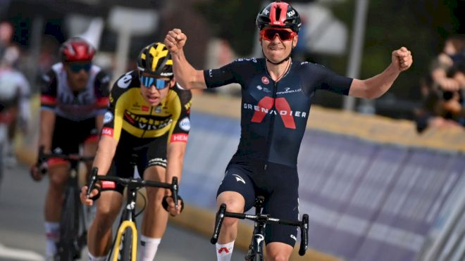 Briton Tom Pidcock In First Win For Ineos