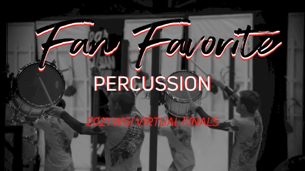 Fan Favorite: WGI Virtual Finals (Percussion)