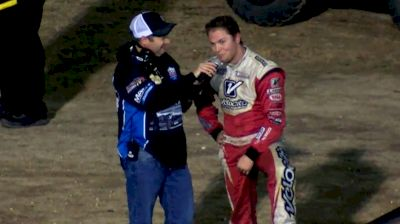 Bobby Pierce Reacts to Incident with Ryan Gustin at 34 Raceway
