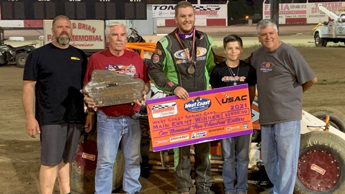 Brody Roa Take USAC West Coast Sprint Feature In Tulare