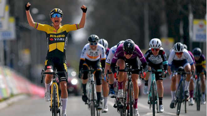 Marianne Vos Takes The Sprint To Win 2021 Amstel Gold