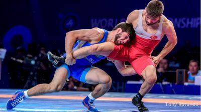 57 kg final - Zaur Uguev (RUS) vs Suleyman Atli (TUR)