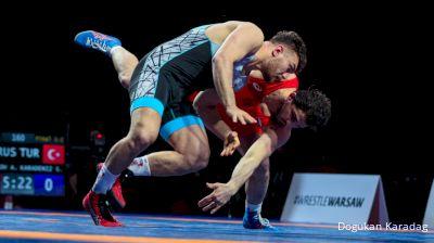 97 kg Final - Alikhan Zhabrailov, RUS vs Suleyman Karadeniz, TUR
