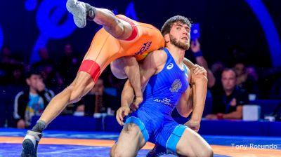 57 kg Semifinal: Zaur Uguev (RUS) vs Kumar Ravi (IND)