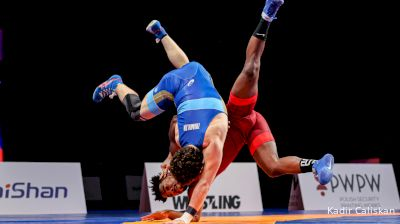 74 kg 3rd place - Frank CHAMIZO (ITA) vs Razambek ZHAMALOV (RUS)