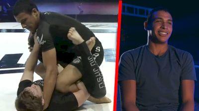 Tye Ruotolo Showcased Leg Lock Development In Nicky Ryan Match