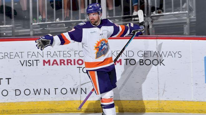 Aaron Luchuk Is A Leader On & Off The Ice For The Orlando Solar Bears