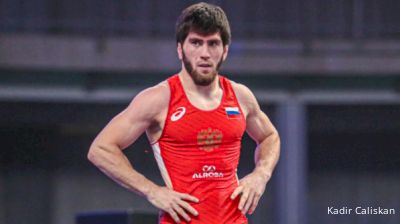 57 kg Quarterfinal - Zavur UGUEV (RUS) vs. Reineri ANDREU ORTEGA (CUB)
