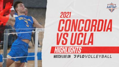 Highlight: UCLA vs Concordia