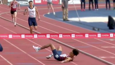Dramatic Finish In Final Meters Of Men's SMR