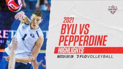 Highlight: BYU vs Pepperdine