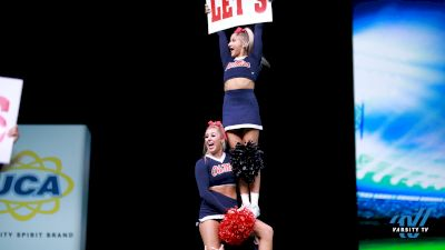 Ole Miss All Girl Game Day Raw Moment!