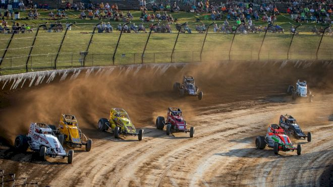 USAC Stars To Battle For $10K At #LetsRaceTwo