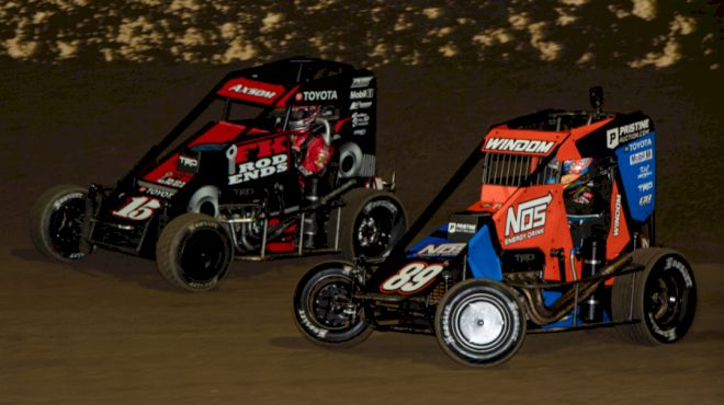 Axsom Grinds Out First USAC Midget Win