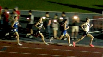Men's Invite 1500m: No Lights? No Problem.