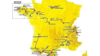 Le Tour de France Parcours