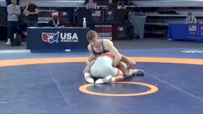 74 kg Consolation - Chase Saldate, Michigan Wrestling CLub vs Derek Fields, Arsenal Wrestling Club