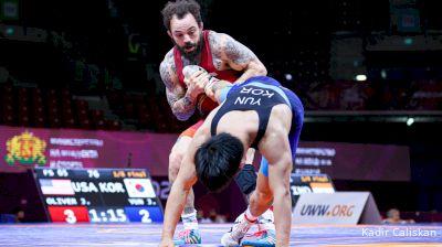 65 kg Jordan Oliver, USA vs Junsik Yun, KOR