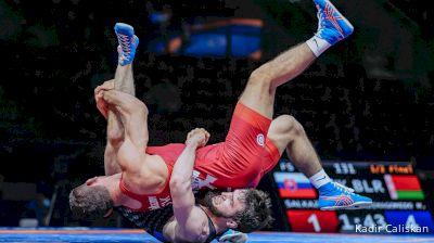 74 kg Semifinal - Taimuraz Salkazanov, SVK vs Magomedkhabib Kadimagomedov, BLR