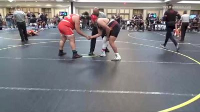 285 lbs Consi Of 8 #1 - Thurstan Tunney, Navajo Nation vs Jacob Groves, Paw